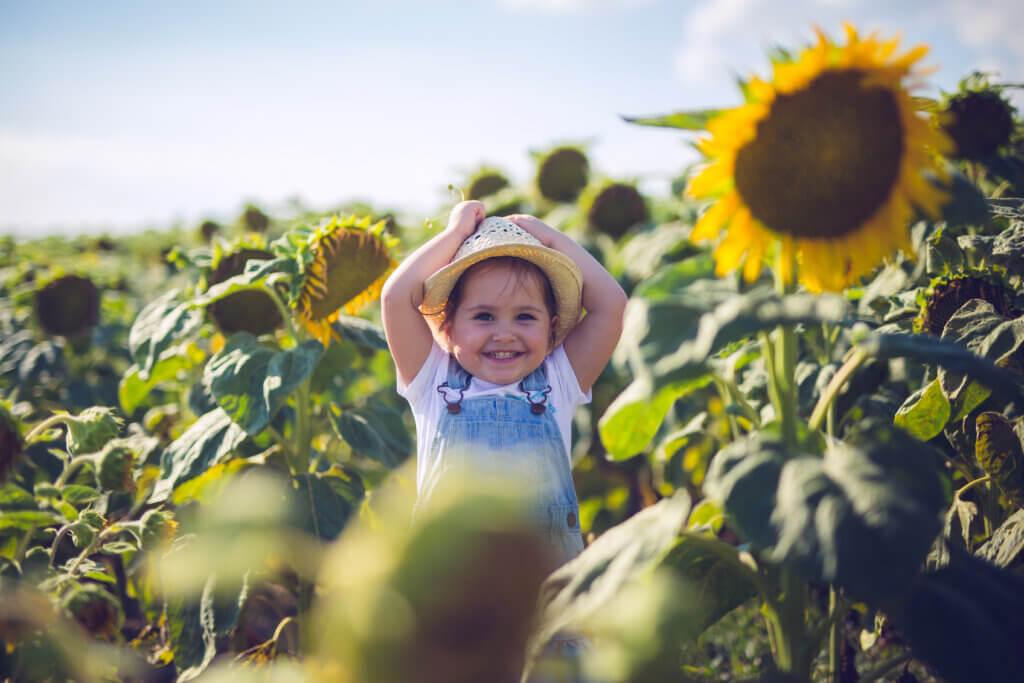 bambino al sole